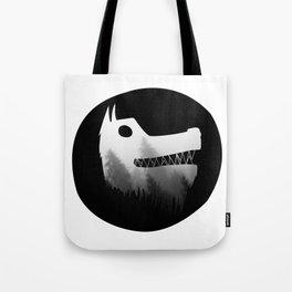 Soul wolf ( dark ) Tote Bag