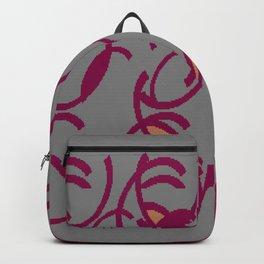 Plum  Backpack