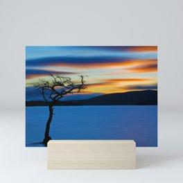 Sunset over Loch Lomond, Scotland Mini Art Print