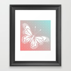 Transforming - I Am White Now Framed Art Print