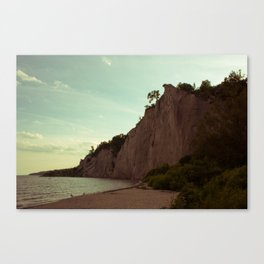 Scarborough Bluffs Canvas Print