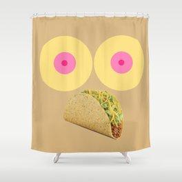 Feminist Taco Shower Curtain