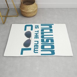 Great for all occassions Inclusion Tee Inclusion is the new cool Rug