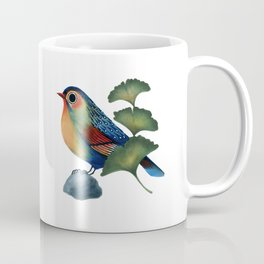 Ginkgo Bird Coffee Mug