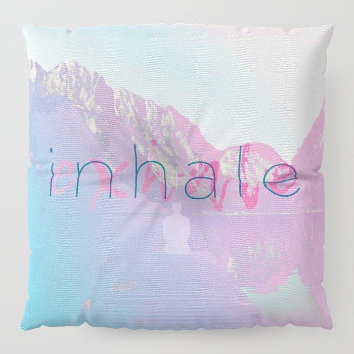 Inhale / Exhale Floor Pillow