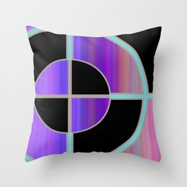 BullsEye: Moods II Throw Pillow
