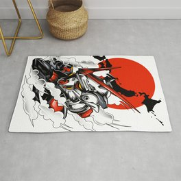 ASTRAY RED FRAME BUST F-12 Rug