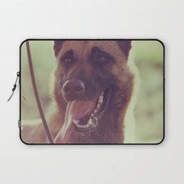 Malinios Beauty dog picture Laptop Sleeve