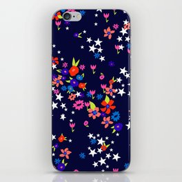 star floral iPhone Skin
