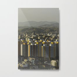 Ulan Bator Skyline Metal Print
