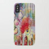 climbing iPhone & iPod Cases featuring Climbing by Belinda Fireman