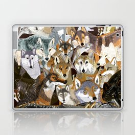 Wolves o´clock ( Time to Wolf ) Laptop & iPad Skin