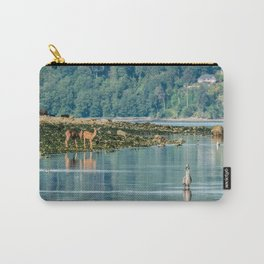Everything is just Beachy Carry-All Pouch