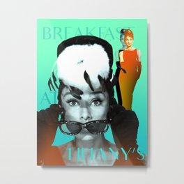 Audrey's Breakfast Metal Print