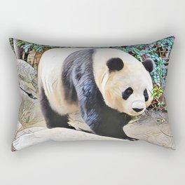 Panda Bear at San Diego Zoo Rectangular Pillow