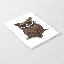 Coffee Owl Notebook