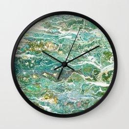 Skinny Dip Wall Clock