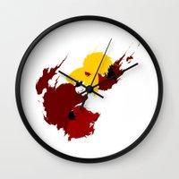 harley quinn Wall Clocks featuring Harley Quinn by Williams Davinchi