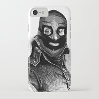 wrestling iPhone & iPod Cases featuring Wrestling mask 3 by DIVIDUS