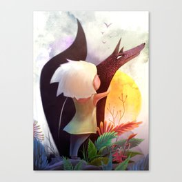 Together In The Sun Canvas Print