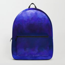 Blue Energy Abstract Backpack