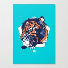 DJ Wildcats Canvas Print