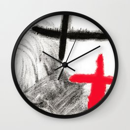 You and Me - Painting Wall Clock