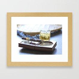 Cigar Time Framed Art Print