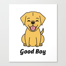 Good Puppy Canvas Print