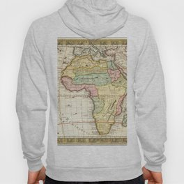 Vintage Map Print - 1732 map of Africa by Guillaume Danet Hoody