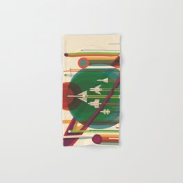 The Grand Tour : Vintage Space Poster Hand & Bath Towel