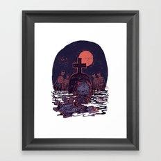 Lucien Framed Art Print