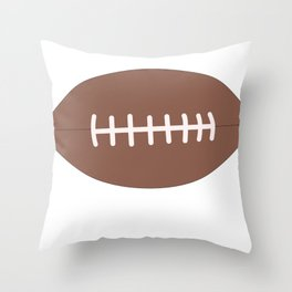 Sports Shut Up The Game is On Throw Pillow