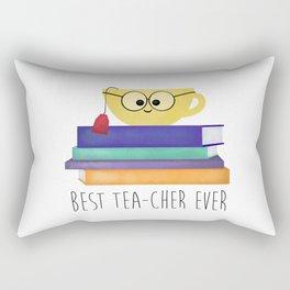 Best TEAcher Ever Rectangular Pillow