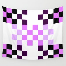 Candy Pixel Wall Tapestry