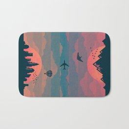 Sunrise / Sunset (alternate) Bath Mat
