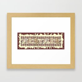 If the facts don't fit your theory, change the facts Framed Art Print