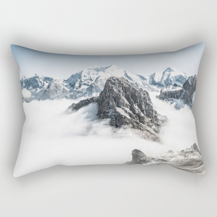 Mountain 7 Rectangular Pillow