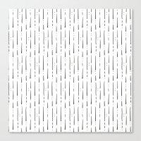 stripe Canvas Prints featuring Stripe  by Steffen Remter