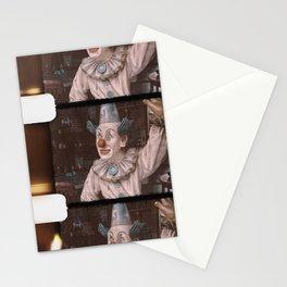 8mm vintage film strip Happy Clown  Stationery Cards