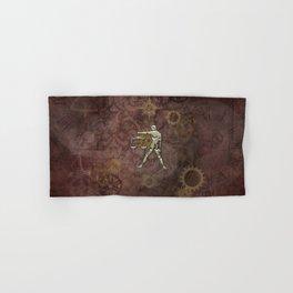 Steampunk Zodiac  Libra Hand & Bath Towel