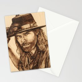 Hell on Wheels Inspired, Mr. Bohannon Stationery Cards