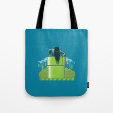 The wrong hole Tote Bag