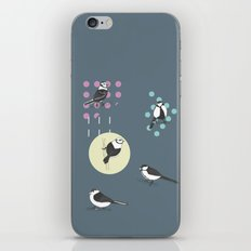 Birds And Dots iPhone & iPod Skin