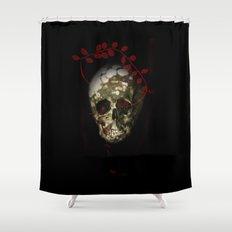 skull#01 Shower Curtain