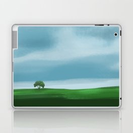 Clouds Rolling In Over Lone Tree Laptop & iPad Skin