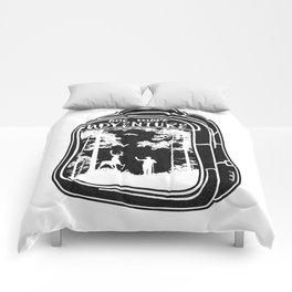 One More Adventure Comforters