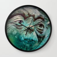 yoda Wall Clocks featuring YODA by ARTito