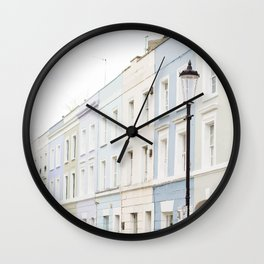 Houses Wall Clock