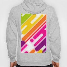 Abstract Color Bubble Blob Background Art Hoody